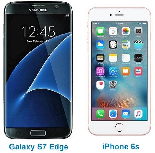 Galaxy S7 Edge vs iPhone 6s