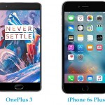 OnePlus 3 vs iPhone 6s Plus